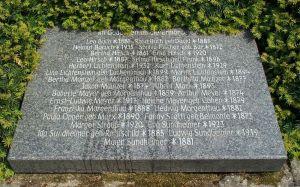 Gedenkstein Heppenheim