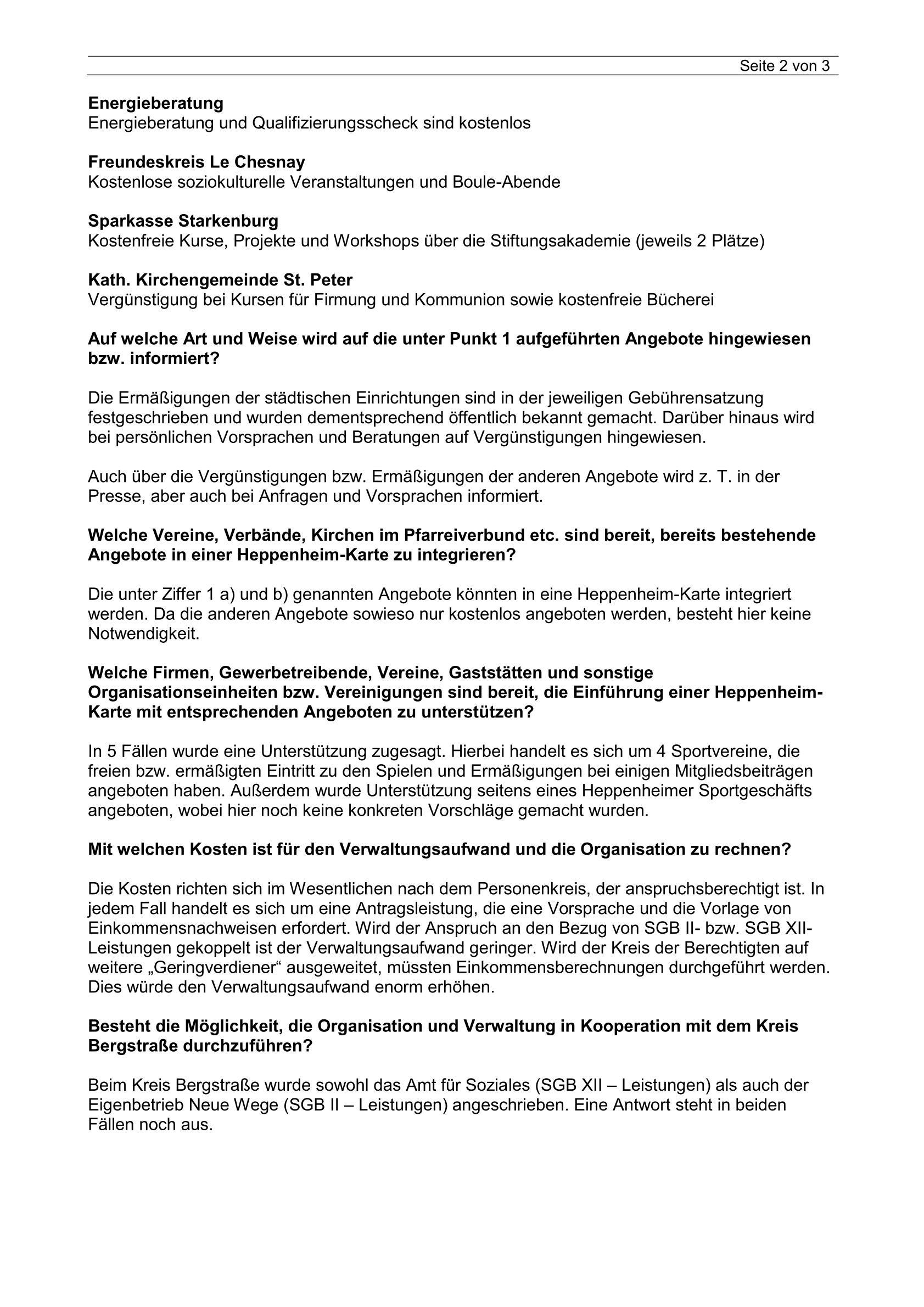 Wie gehts weiter mit dem Projekt Heppenheim – Karte_Bürgermeister ...