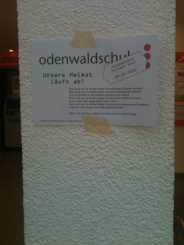 odenwaldschule flyer